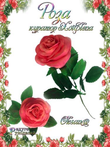 Галерея - Роза - лепка из холодного фарфора  1521d526eca24cbfa31dd838c123fc0b