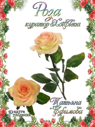 Галерея - Роза - лепка из холодного фарфора  4e64578a5262340c7cd4603a21678abd