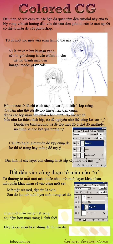 [Tut]Tô màu theo kiểu anime ColoredCGtotorial_part1_byLeejun