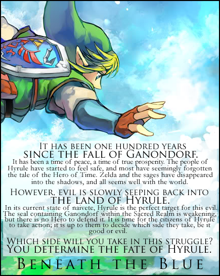 ZELDA: Beneath the Blue Beneaththebluead