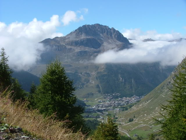 An oldie.  Three mountain ranges and a gorge or two FranceSpain2005057