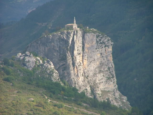 An oldie.  Three mountain ranges and a gorge or two FranceSpain2005130