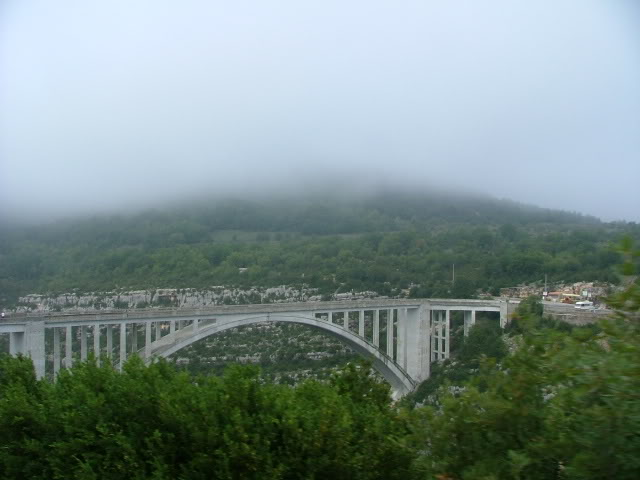 An oldie.  Three mountain ranges and a gorge or two FranceSpain2005142