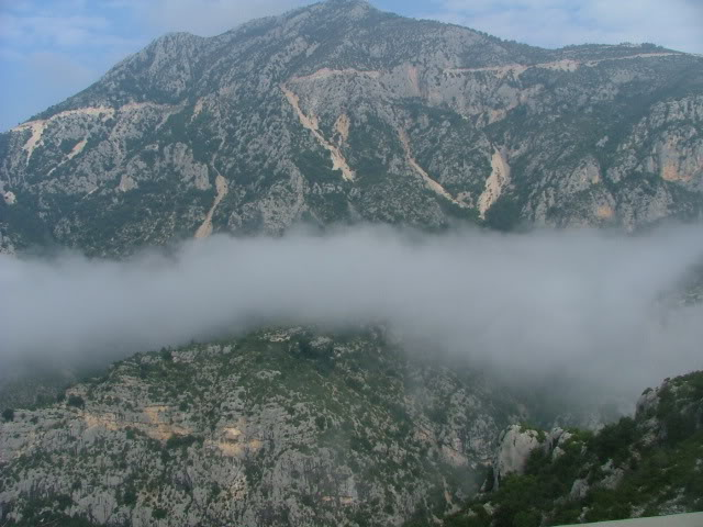 An oldie.  Three mountain ranges and a gorge or two FranceSpain2005154
