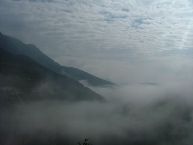 An oldie.  Three mountain ranges and a gorge or two FranceSpain2005170