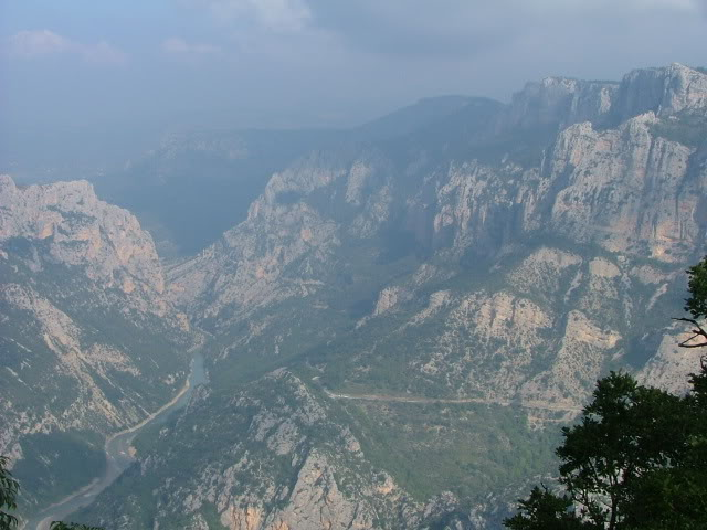 An oldie.  Three mountain ranges and a gorge or two FranceSpain2005181