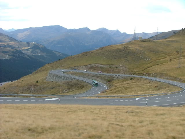 An oldie.  Three mountain ranges and a gorge or two FranceSpain2005222