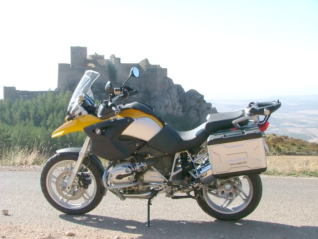 An oldie.  Three mountain ranges and a gorge or two FranceSpain2005325