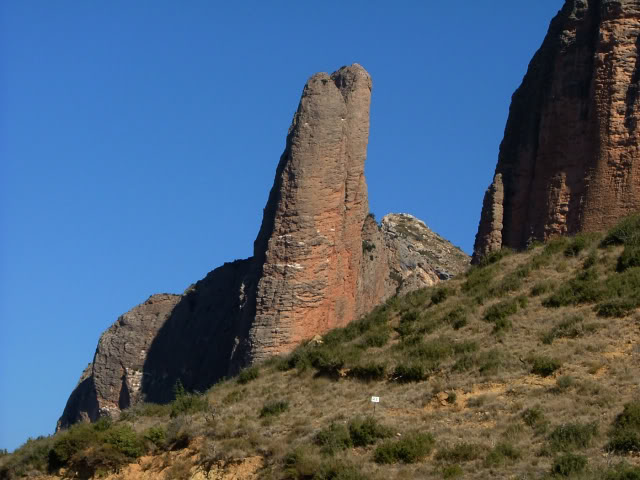 An oldie.  Three mountain ranges and a gorge or two FranceSpain2005336
