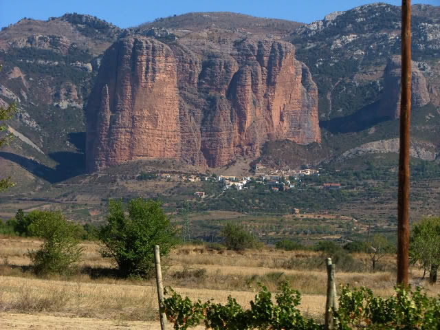 An oldie.  Three mountain ranges and a gorge or two FranceSpain2005339