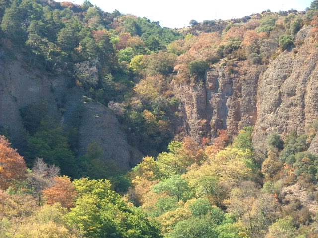 An oldie.  Three mountain ranges and a gorge or two FranceSpain2005346