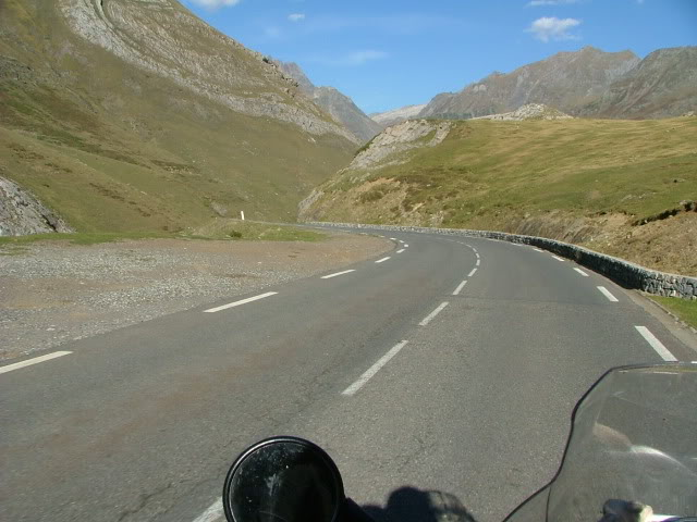 An oldie.  Three mountain ranges and a gorge or two FranceSpain2005365
