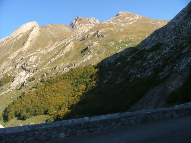 An oldie.  Three mountain ranges and a gorge or two FranceSpain2005367