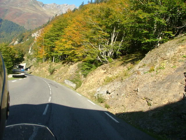 An oldie.  Three mountain ranges and a gorge or two FranceSpain2005373