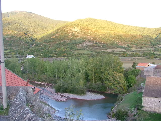 An oldie.  Three mountain ranges and a gorge or two FranceSpain2005399