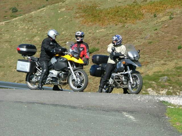 An oldie.  Three mountain ranges and a gorge or two FranceSpain2005437