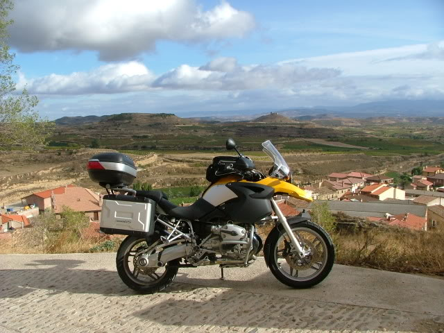 An oldie.  Three mountain ranges and a gorge or two FranceSpain2005504