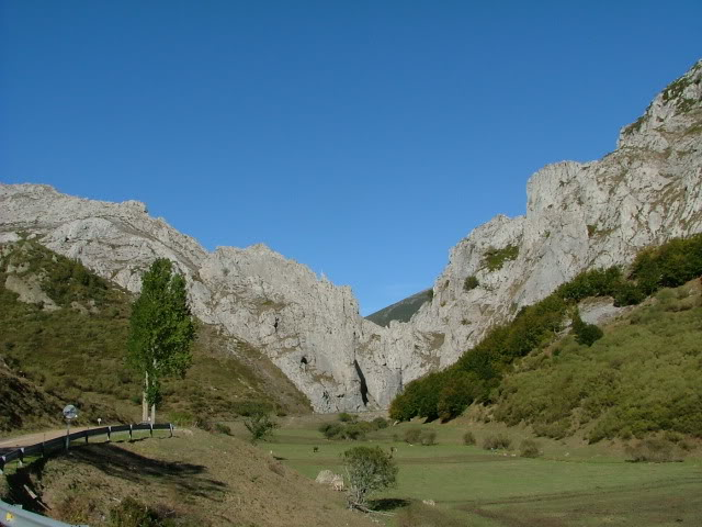 An oldie.  Three mountain ranges and a gorge or two FranceSpain2005619