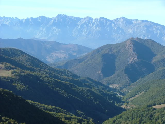An oldie.  Three mountain ranges and a gorge or two FranceSpain2005630