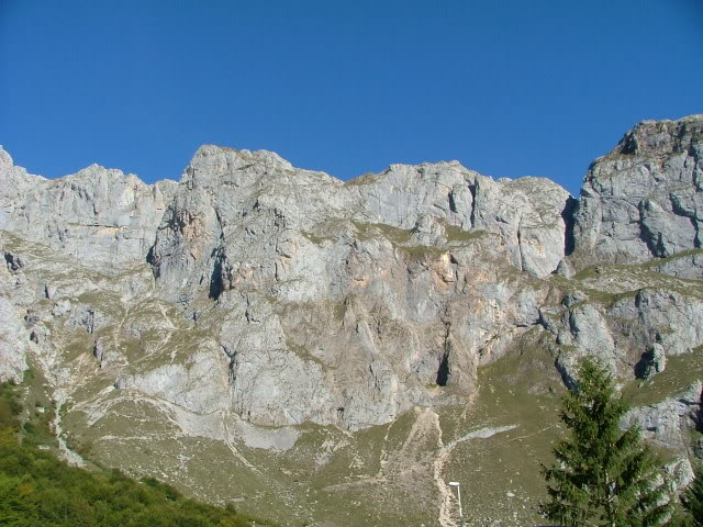 An oldie.  Three mountain ranges and a gorge or two FranceSpain2005639