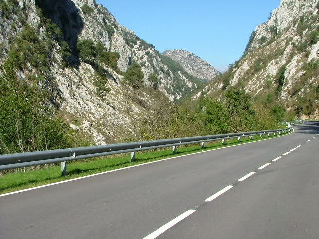 An oldie.  Three mountain ranges and a gorge or two FranceSpain2005720
