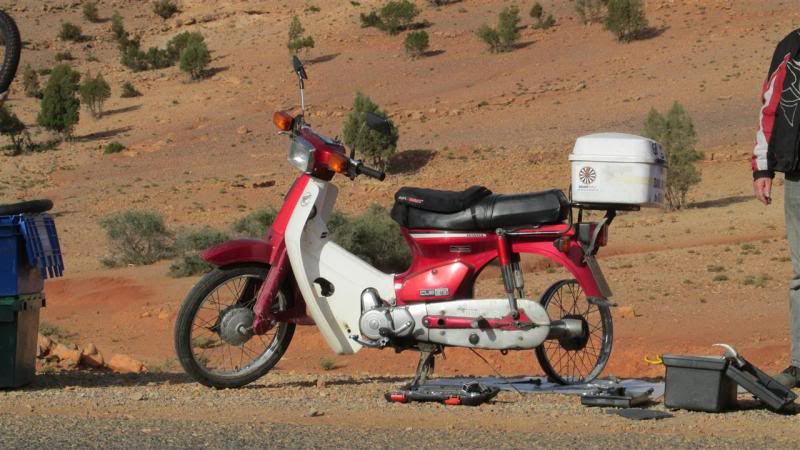 The Road to Bansang- Andy's trip to the Gambia on a Honda C90 - Page 3 AP006Custom_zps548defcb