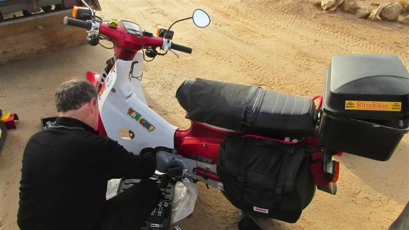 The Road to Bansang- Andy's trip to the Gambia on a Honda C90 - Page 3 AP38Custom_zps0cd3f50d
