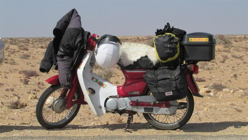 The Road to Bansang- Andy's trip to the Gambia on a Honda C90 - Page 3 AP60Custom_zps84ce01db