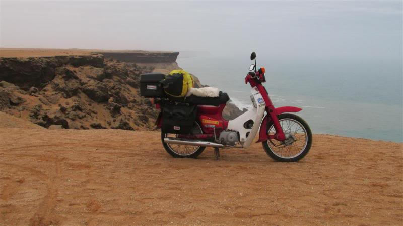 The Road to Bansang- Andy's trip to the Gambia on a Honda C90 - Page 3 AP74Custom_zps8ca8c054