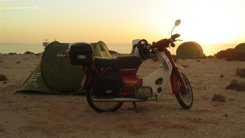 The Road to Bansang- Andy's trip to the Gambia on a Honda C90 - Page 3 AP82Custom_zps877ea12b