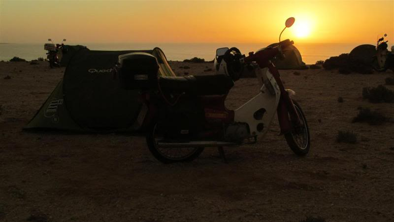 The Road to Bansang- Andy's trip to the Gambia on a Honda C90 - Page 3 AP84Custom_zpsae6b6b6e