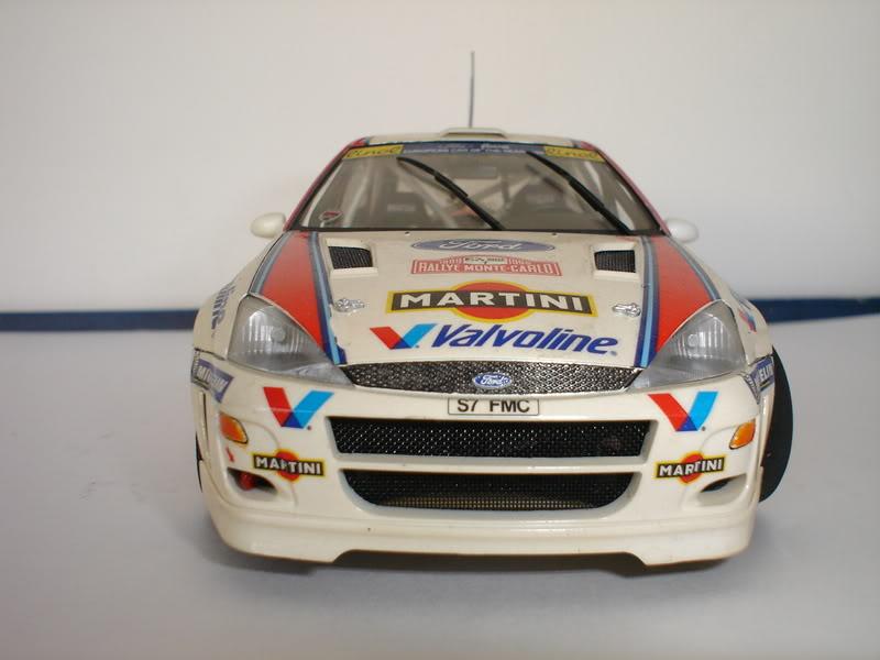 Ford Focus WRC 1/24 Tamiya Fotos015