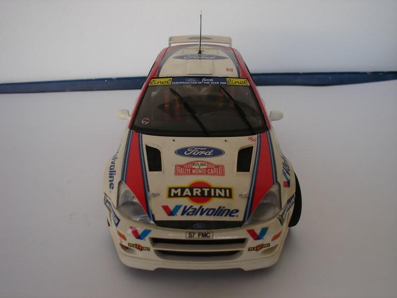 Ford Focus WRC 1/24 Tamiya Fotos017