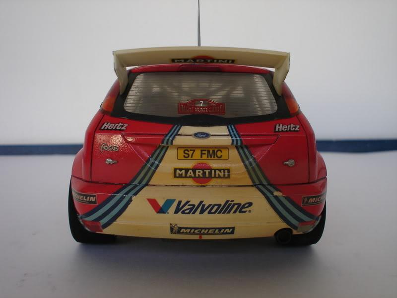 Ford Focus WRC 1/24 Tamiya Fotos018
