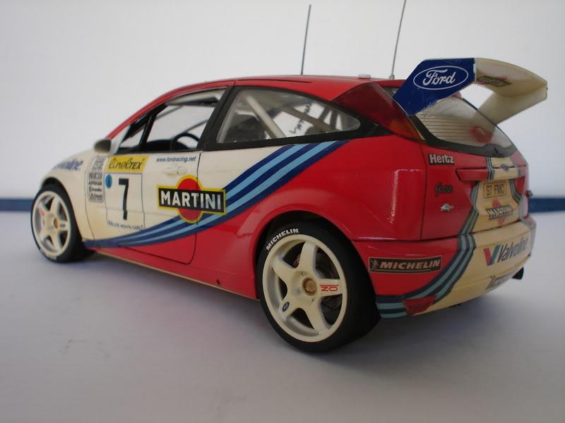 Ford Focus WRC 1/24 Tamiya Fotos019