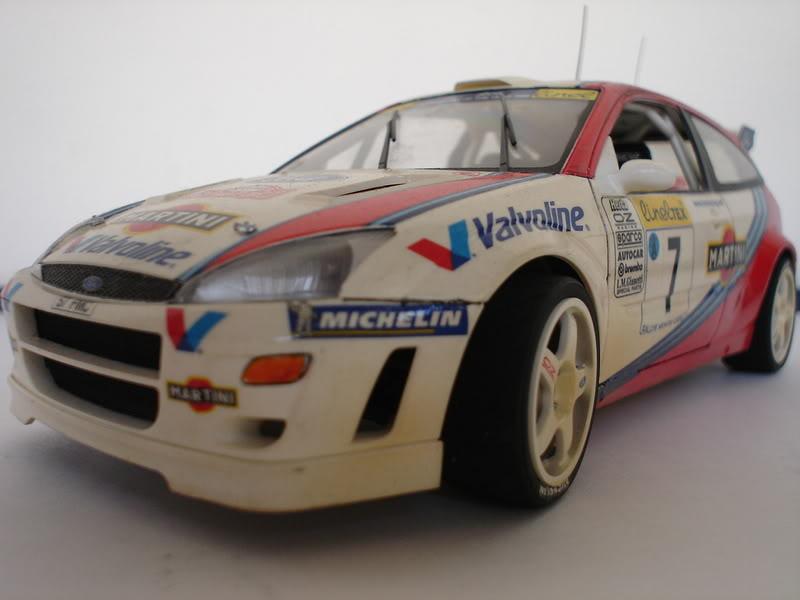Ford Focus WRC 1/24 Tamiya Fotos020