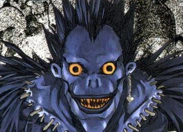 Lo de siempre, personaje favorito Ryukudeathnote