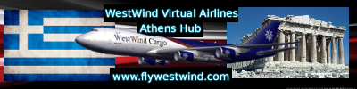 WestWind Airlines Athens Hub!               Westwind Airlines Αθήνα Hub!   AthensHubGraphic2