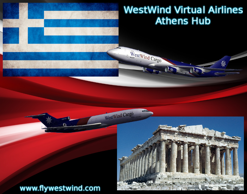 WestWind Airlines Athens Hub!               Westwind Airlines Αθήνα Hub!   AthensHubGraphicBIG