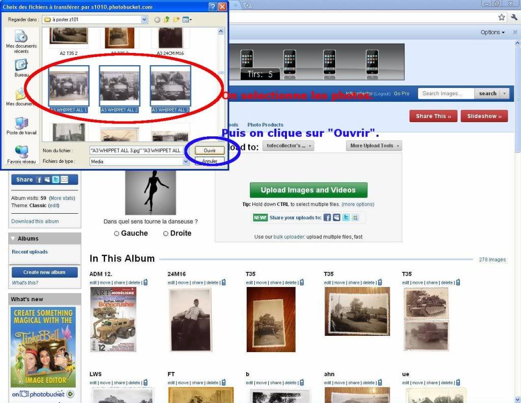 Tutoriel N°1: comment poster des photos? 2