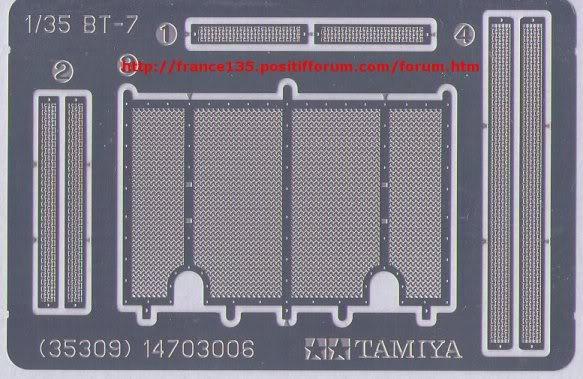 BT-7. Tamiya, ref 35309. 1/35. Kit plastique. BT-7Tamiya1-3507