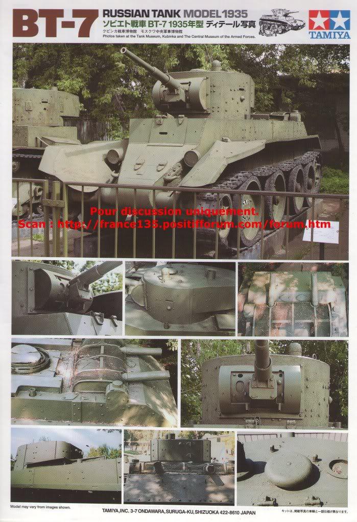 BT-7. Tamiya, ref 35309. 1/35. Kit plastique. BT-7Tamiya1-3514