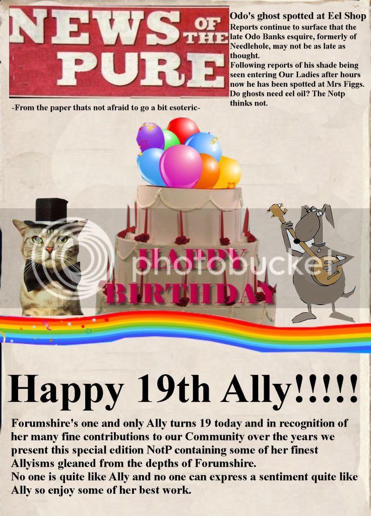 Ally's Brilliant Birthday Bash Thread 1-34