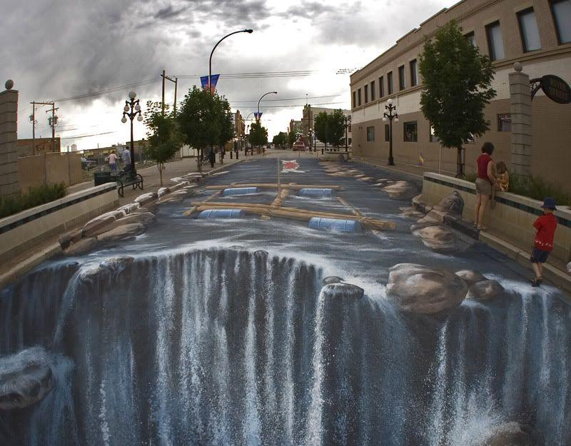 Just...................whatever - Page 4 3d-chalk-art-waterfall-parking-lot-edgar-mueller