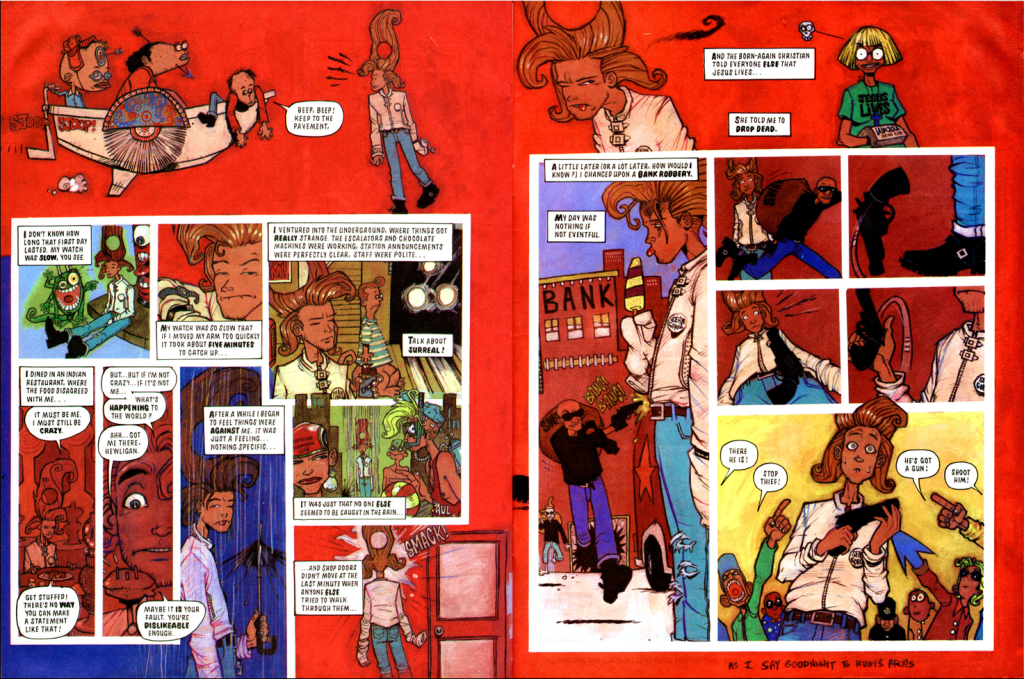 comics- extracts and discussions 5