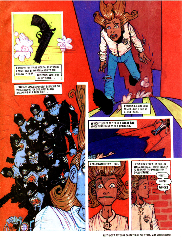 comics- extracts and discussions 6