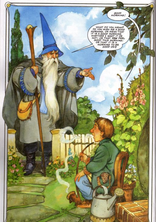 Lord of the Rings Humour: Parodies, Satires and More - Page 38 HobbitGandolf