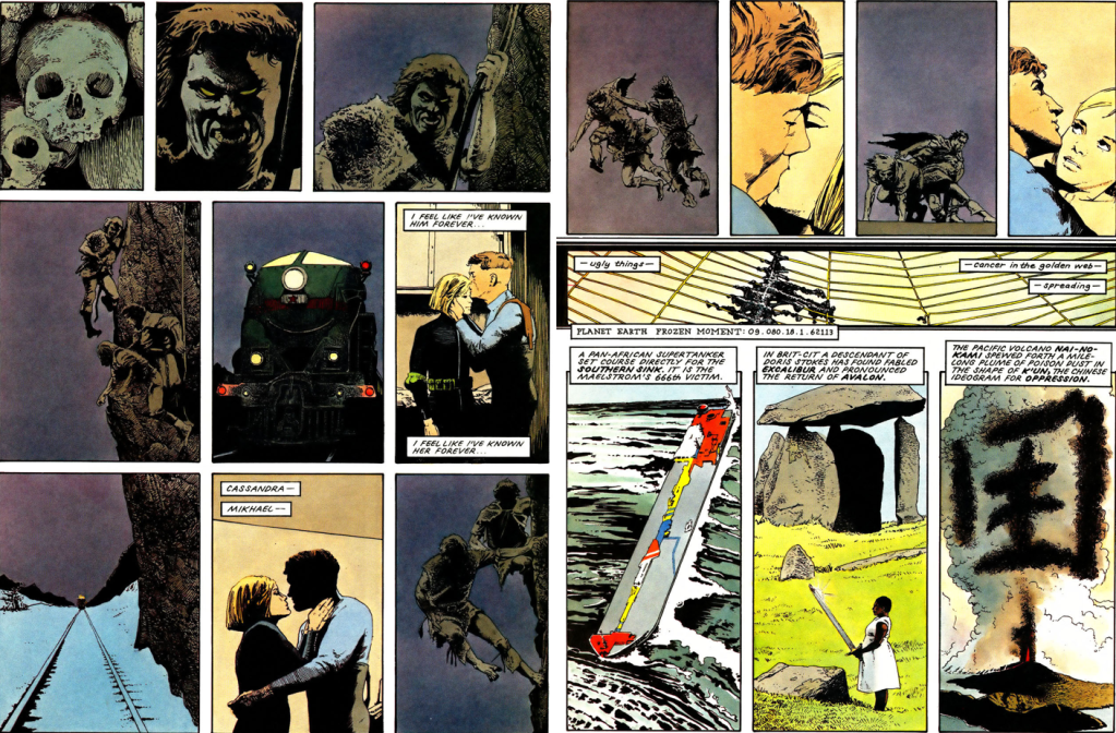 comics- extracts and discussions An4