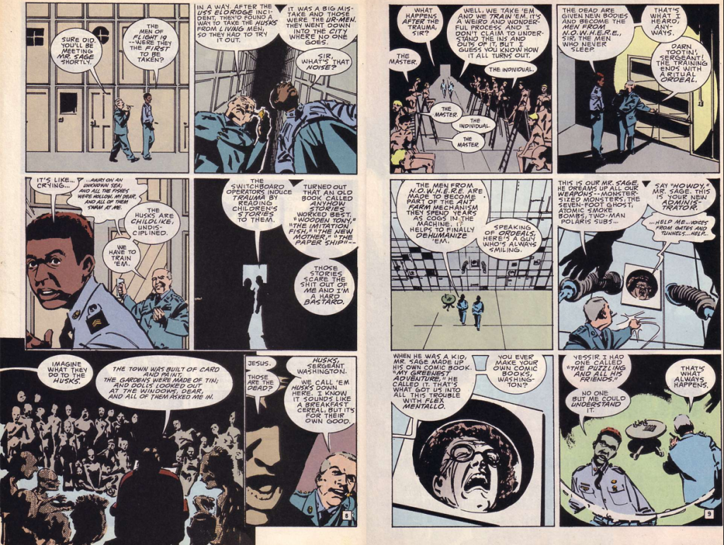 comics- extracts and discussions D4-1