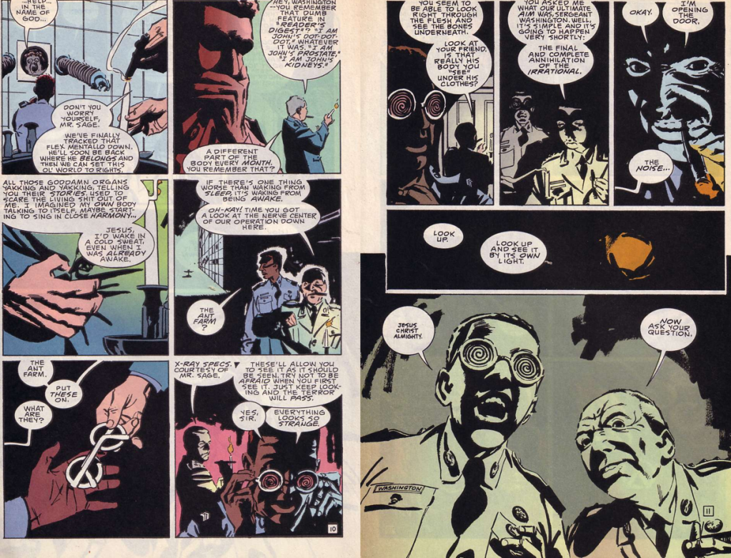 comics- extracts and discussions D5-1